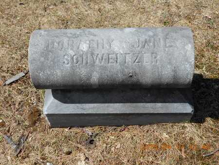 SCHWEITZER, DORATHY JANE - Marquette County, Michigan | DORATHY JANE SCHWEITZER - Michigan Gravestone Photos