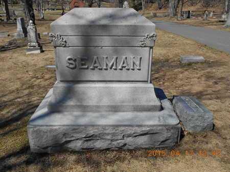SEAMAN, FAMILY - Marquette County, Michigan | FAMILY SEAMAN - Michigan Gravestone Photos