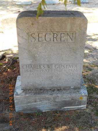 SEGREN, CHARLES W. - Marquette County, Michigan | CHARLES W. SEGREN - Michigan Gravestone Photos