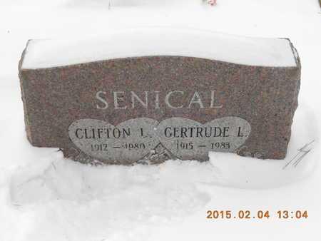 SENICAL, CLIFTON L. - Marquette County, Michigan | CLIFTON L. SENICAL - Michigan Gravestone Photos