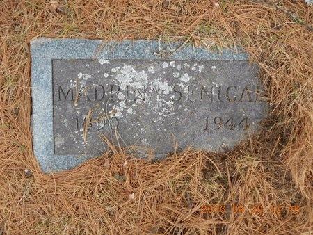 SENICAL, MADRINA - Marquette County, Michigan   MADRINA SENICAL - Michigan Gravestone Photos