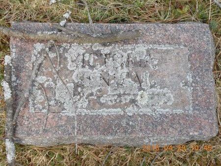 SENICAL, VICTORIA - Marquette County, Michigan | VICTORIA SENICAL - Michigan Gravestone Photos