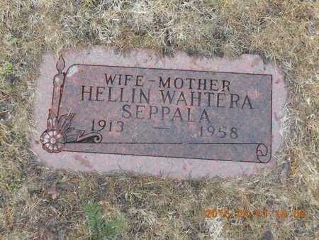 SEPPALA, HELLIN - Marquette County, Michigan   HELLIN SEPPALA - Michigan Gravestone Photos
