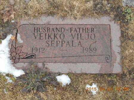 SEPPALA, VEIKKO VILJO - Marquette County, Michigan | VEIKKO VILJO SEPPALA - Michigan Gravestone Photos