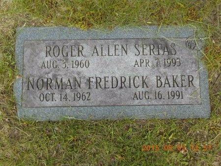 SERFAS, ROGER ALLEN - Marquette County, Michigan | ROGER ALLEN SERFAS - Michigan Gravestone Photos
