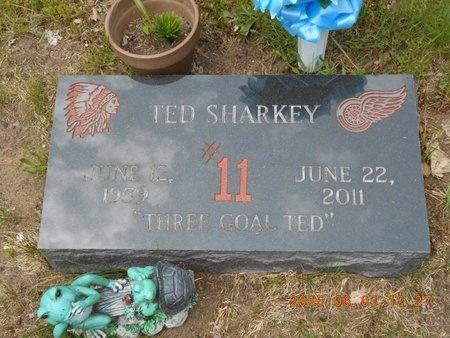 SHARKEY, TED - Marquette County, Michigan | TED SHARKEY - Michigan Gravestone Photos