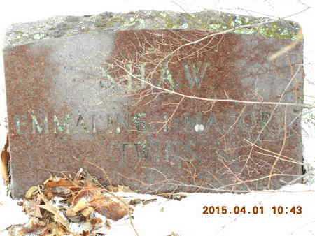 SHAW, EMMALINE - Marquette County, Michigan | EMMALINE SHAW - Michigan Gravestone Photos
