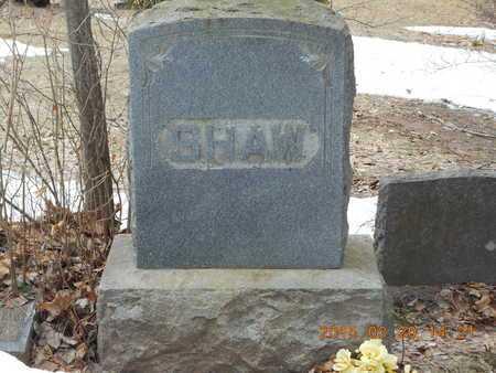 SHAW, FAMILY - Marquette County, Michigan   FAMILY SHAW - Michigan Gravestone Photos