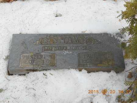 SHAW, HERBERT T. - Marquette County, Michigan | HERBERT T. SHAW - Michigan Gravestone Photos