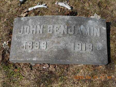 SHERWOOD, JOHN BENJAMIN - Marquette County, Michigan | JOHN BENJAMIN SHERWOOD - Michigan Gravestone Photos