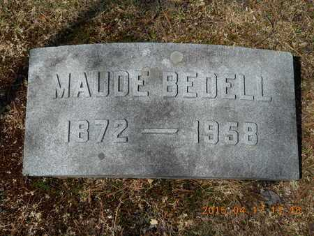 SHERWOOD, MAUDE - Marquette County, Michigan   MAUDE SHERWOOD - Michigan Gravestone Photos