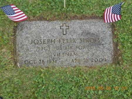 SIROIS, JOSEPH FELIX - Marquette County, Michigan | JOSEPH FELIX SIROIS - Michigan Gravestone Photos