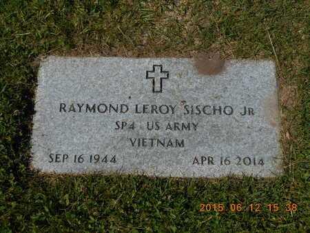 SISCHO, JR., RAYMOND LEROY - Marquette County, Michigan | RAYMOND LEROY SISCHO, JR. - Michigan Gravestone Photos