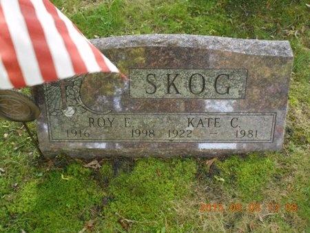 SKOG, ROY EDWARD - Marquette County, Michigan | ROY EDWARD SKOG - Michigan Gravestone Photos