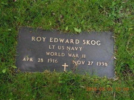 SKOG, ROY EDWARD - Marquette County, Michigan   ROY EDWARD SKOG - Michigan Gravestone Photos