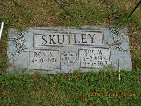 SKUTLEY, SUE W. - Marquette County, Michigan | SUE W. SKUTLEY - Michigan Gravestone Photos