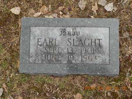 SLAGHT, EARL - Marquette County, Michigan | EARL SLAGHT - Michigan Gravestone Photos