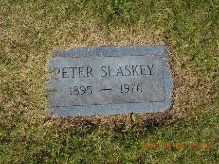 SLASKEY, PETER - Marquette County, Michigan | PETER SLASKEY - Michigan Gravestone Photos