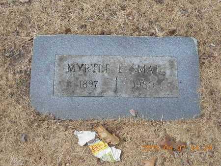 SMAIL, MYRTLE E. - Marquette County, Michigan | MYRTLE E. SMAIL - Michigan Gravestone Photos
