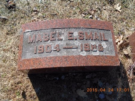 SMAIL, MABEL - Marquette County, Michigan | MABEL SMAIL - Michigan Gravestone Photos