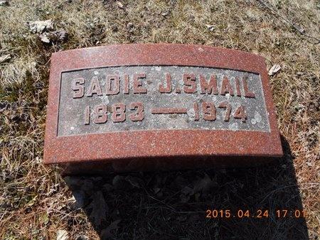 SMAIL, SADIE J. - Marquette County, Michigan | SADIE J. SMAIL - Michigan Gravestone Photos