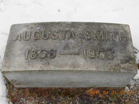 BOESLER SMITH, AUGUSTA - Marquette County, Michigan | AUGUSTA BOESLER SMITH - Michigan Gravestone Photos