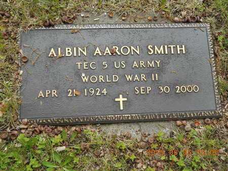 SMITH, ALBIN AARON - Marquette County, Michigan | ALBIN AARON SMITH - Michigan Gravestone Photos