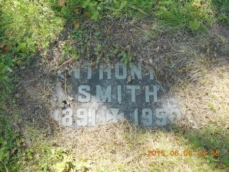 SMITH, ANTHONY - Marquette County, Michigan | ANTHONY SMITH - Michigan Gravestone Photos