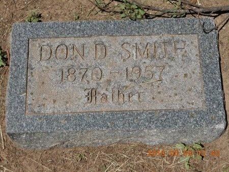 SMITH, DON D. - Marquette County, Michigan | DON D. SMITH - Michigan Gravestone Photos