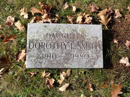 SMITH, DOROTHY L. - Marquette County, Michigan | DOROTHY L. SMITH - Michigan Gravestone Photos