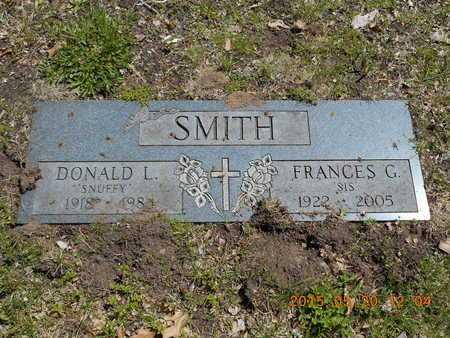 SMITH, FRANCES G. - Marquette County, Michigan | FRANCES G. SMITH - Michigan Gravestone Photos