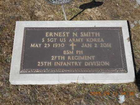 SMITH, ERNEST N. - Marquette County, Michigan   ERNEST N. SMITH - Michigan Gravestone Photos