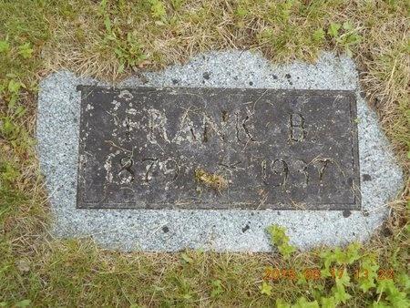 SMITH, FRANK B. - Marquette County, Michigan   FRANK B. SMITH - Michigan Gravestone Photos