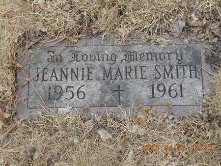 SMITH, JEANNIE MARIE - Marquette County, Michigan | JEANNIE MARIE SMITH - Michigan Gravestone Photos
