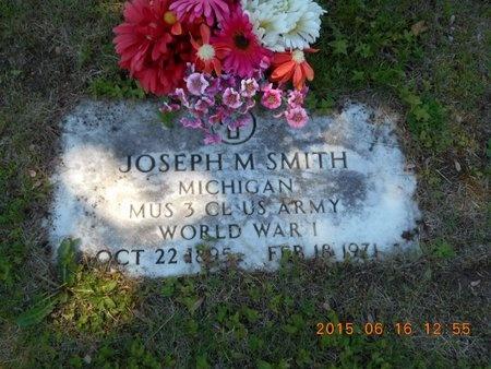 SMITH, JOSEPH M. - Marquette County, Michigan | JOSEPH M. SMITH - Michigan Gravestone Photos