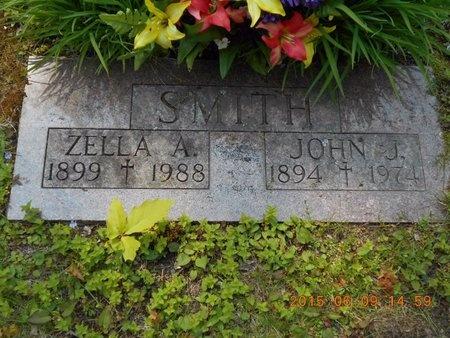 SMITH, ZELLA A. - Marquette County, Michigan | ZELLA A. SMITH - Michigan Gravestone Photos