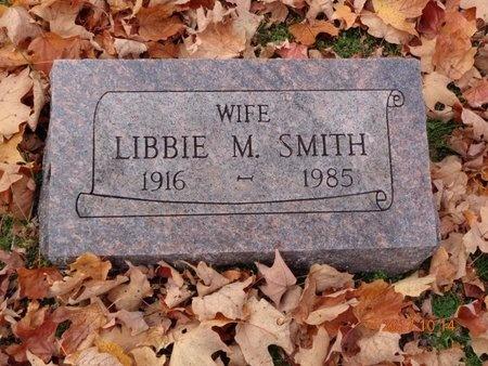 SMITH, LIBBIE M. - Marquette County, Michigan | LIBBIE M. SMITH - Michigan Gravestone Photos