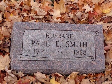 SMITH, PAUL E. - Marquette County, Michigan | PAUL E. SMITH - Michigan Gravestone Photos