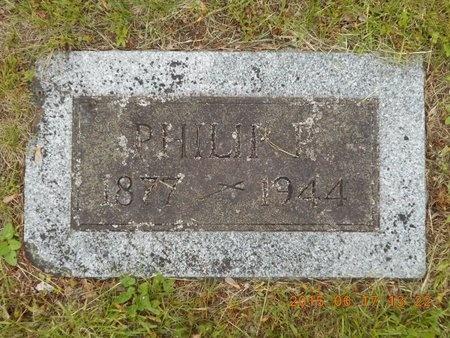 SMITH, PHILIP P. - Marquette County, Michigan | PHILIP P. SMITH - Michigan Gravestone Photos