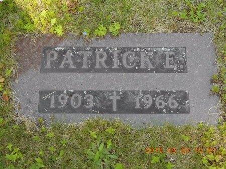 SMITH, PATRICK E. - Marquette County, Michigan | PATRICK E. SMITH - Michigan Gravestone Photos