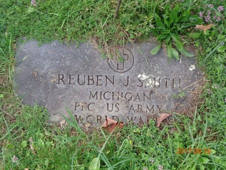 SMITH, REUBEN J. - Marquette County, Michigan | REUBEN J. SMITH - Michigan Gravestone Photos