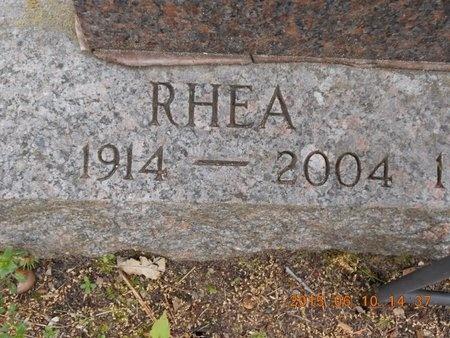 SMITH, RHEA - Marquette County, Michigan | RHEA SMITH - Michigan Gravestone Photos
