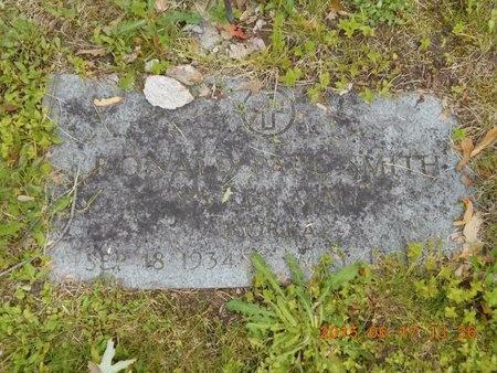 SMITH, RONALD PAUL - Marquette County, Michigan | RONALD PAUL SMITH - Michigan Gravestone Photos