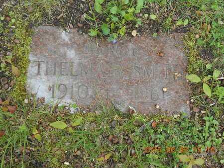 SMITH, THELMA B. - Marquette County, Michigan | THELMA B. SMITH - Michigan Gravestone Photos
