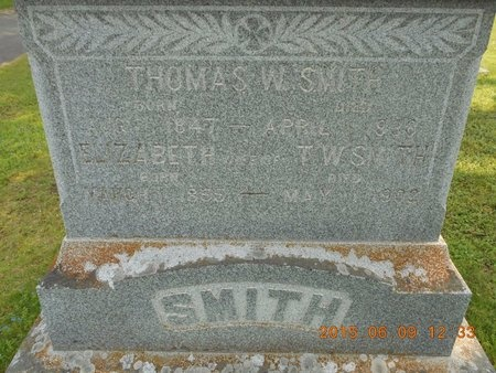 SMITH, THOMAS W. - Marquette County, Michigan   THOMAS W. SMITH - Michigan Gravestone Photos