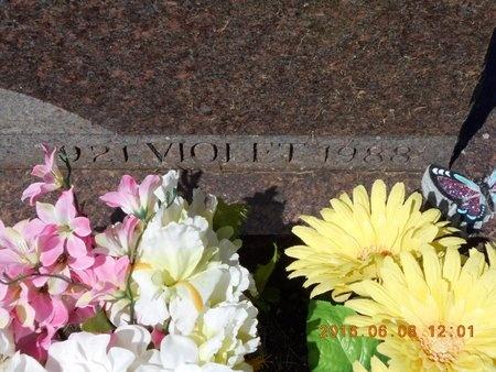 SMITH, VIOLET - Marquette County, Michigan | VIOLET SMITH - Michigan Gravestone Photos