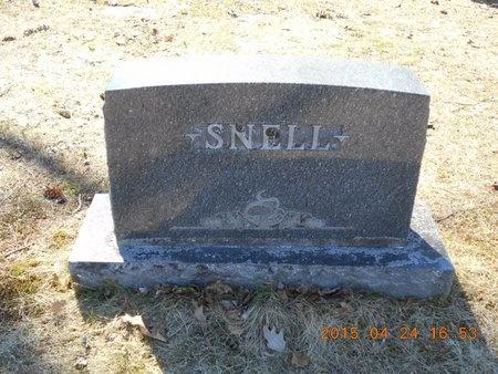 SNELL, FAMILY - Marquette County, Michigan   FAMILY SNELL - Michigan Gravestone Photos