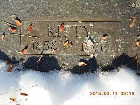 SNYDER, KITTY - Marquette County, Michigan | KITTY SNYDER - Michigan Gravestone Photos