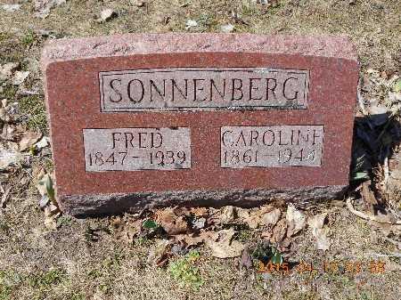 SONNENBERG, CAROLINE - Marquette County, Michigan | CAROLINE SONNENBERG - Michigan Gravestone Photos