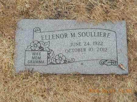 PETERSON SOULLIERE, ELLENOR M. - Marquette County, Michigan | ELLENOR M. PETERSON SOULLIERE - Michigan Gravestone Photos